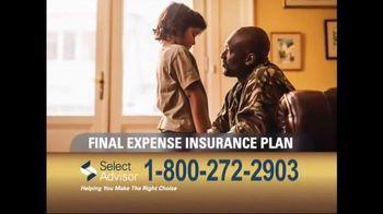 Select Advisor Final Expense Insurance Plan TV Spot, 'Options'