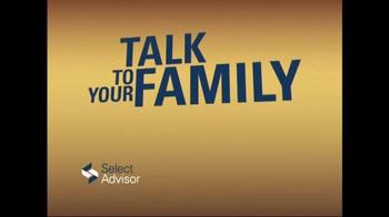 Select Advisor Final Expense Insurance Plan TV Spot, 'Options' - Thumbnail 1