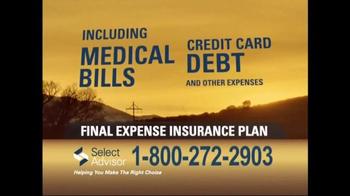 Select Advisor Final Expense Insurance Plan TV Spot, 'Options' - Thumbnail 4