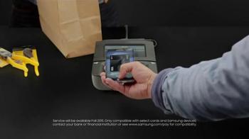 Samsung Pay TV Spot, 'It's Not a Phone, It's a Galaxy: Samsung Pay' - Thumbnail 4