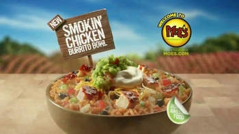 Moe's Southwest Grill Smokin' Chicken Bowl TV Spot, 'It's Hot' - Thumbnail 8