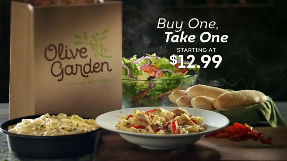 Olive Garden Buy One, Take One TV Commercial, 'Time is Running Out'