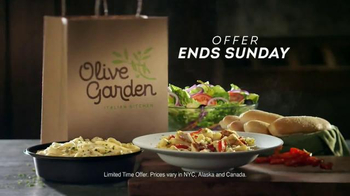 Olive Garden Buy One, Take One TV Spot, 'Time is Running Out' - Thumbnail 8