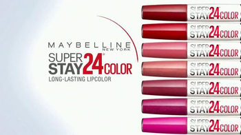 Maybelline New York SuperStay 24 Color TV Spot, 'Mirror Check' - Thumbnail 2