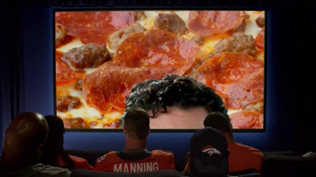Papa John's Monster Toppings Pizza TV Spot, 'Film Room' Ft. Peyton Manning - Thumbnail 3