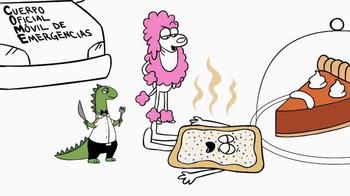 Pop-Tarts Pumpkin Pie TV Spot, 'C.O.M.E.' [Spanish] - Thumbnail 8