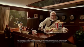 KFC $20 Family Fill Up TV Spot, 'Limousine' Featuring Norm Macdonald - Thumbnail 3
