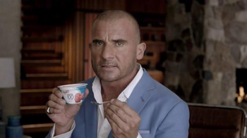 Yoplait Greek 100 TV Spot, 'Hunger' Featuring Dominic Purcell
