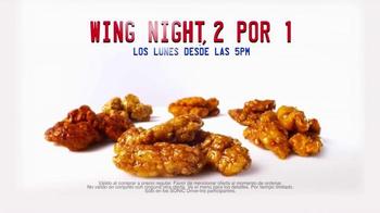 Sonic Drive-In Boneless Wings TV Spot, 'Wing Night' [Spanish] - Thumbnail 5