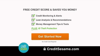 Credit Sesame TV Spot, 'Your Free Credit Score & Much More' - Thumbnail 10