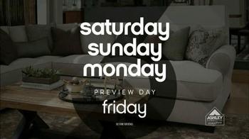 Ashley Furniture Homestore 3 Day Sale TV Spot, 'No Interest' - Thumbnail 1