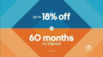 Ashley Furniture Homestore 3 Day Sale TV Spot, 'No Interest' - 17 commercial airings
