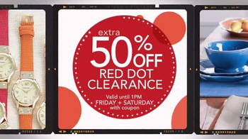 Stein Mart 12 Hour Sale TV Spot, 'Red Dot Clearance' - Thumbnail 5