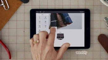 Weebly TV Spot, 'Leather Goods' - Thumbnail 3