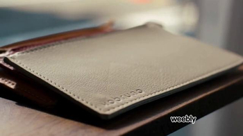 Weebly TV Spot, 'Leather Goods' - Thumbnail 4