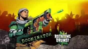 Nerf Zombie Strike Doominator TV Spot, 'Dominate Hoards of Zombies' - 669 commercial airings