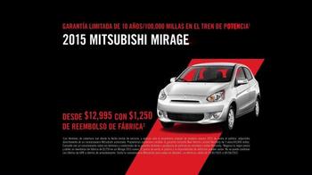 2015 Mitsubishi Mirage TV Spot, 'Destino' [Spanish] - Thumbnail 8