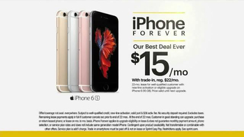 Sprint iPhone 6s TV Spot, 'Time Machine' - Thumbnail 8