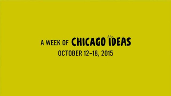 2015 Chicago Ideas Week TV Spot, 'Meaning of Life' - Thumbnail 7