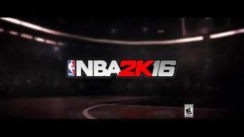 NBA 2K16 TV Spot, 'Be the Story' - Thumbnail 8