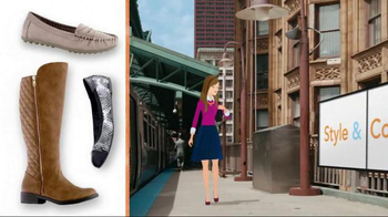 Payless Shoe Source Fall Style and Comfort Sale TV Spot, 'With a Smile' - Thumbnail 7