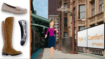 Payless Shoe Source Fall Style and Comfort Sale TV Spot, 'With a Smile' - Thumbnail 8