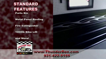 Thunder Den TV Spot, 'Ultimate Motorcycle Garage' - Thumbnail 2