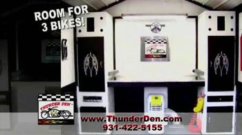 Thunder Den TV Spot, 'Ultimate Motorcycle Garage' - Thumbnail 3