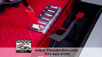 Thunder Den TV Spot, 'Ultimate Motorcycle Garage' - Thumbnail 4