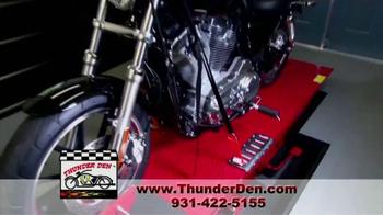 Thunder Den TV Spot, 'Ultimate Motorcycle Garage' - Thumbnail 5