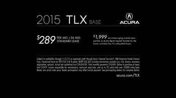 2015 Acura TLX TV Spot, 'Jealous' Song by Drootrax & Rena - Thumbnail 8