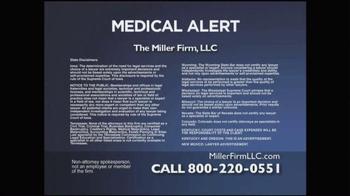 Miller Firm TV Spot, 'IVC Filters' - Thumbnail 5
