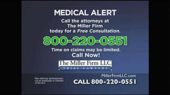 Miller Firm TV Spot, 'IVC Filters' - Thumbnail 4