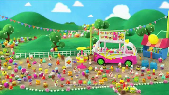 Shopkins Food Fair TV Spot, 'Scoops Ice Cream Truck'