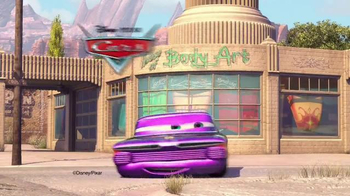 Disney Pixar Cars Ramone's Color Change Playset TV Spot, 'Spin and Spray' - Thumbnail 1