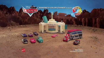 Disney Pixar Cars Ramone's Color Change Playset TV Spot, 'Spin and Spray' - Thumbnail 8
