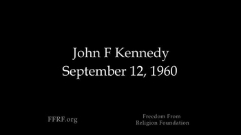 Freedom from Religion Foundation TV Spot, 'John F. Kennedy' - Thumbnail 1
