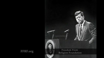Freedom from Religion Foundation TV Spot, 'John F. Kennedy' - Thumbnail 2