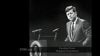 Freedom from Religion Foundation TV Spot, 'John F. Kennedy' - Thumbnail 3
