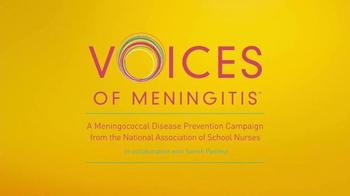 Voices of Meningitis TV Spot, 'Teen Health Care' Featuring Cristina Ferrare - Thumbnail 5
