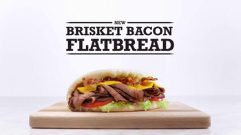 Arby's Brisket Bacon Flatbread TV Spot, 'Definitions' - 4192 commercial airings