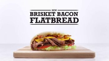 Arby's Brisket Bacon Flatbread TV Spot, 'Definitions'