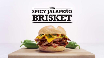 Arby's Spicy Jalapeno Brisket TV Spot, 'Cow Inventor' - 1585 commercial airings