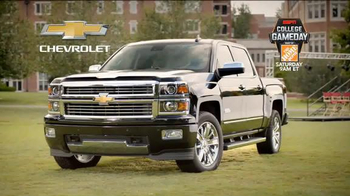 Chevrolet Silverado TV Spot, 'Who's Driving: ESPN College GameDay Week 4' - Thumbnail 9