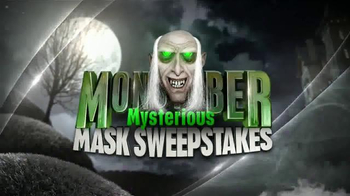 Disney Channel TV Spot, 'Monstober Mysterious Mask Sweepstakes'