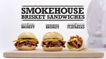 Arby's Smokehouse Brisket Sandwiches TV Spot, 'Smoke Rings' - 814 commercial airings