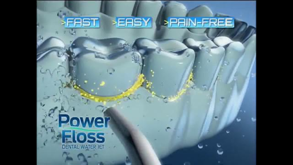 Dr. Hart's Power Floss TV Commercial, 'Air-Infusion Technology'