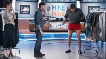 Lee Jeans TV Spot, 'Mike and Mike: No Pants' Ft. Mike Greenberg, Mike Golic - Thumbnail 4