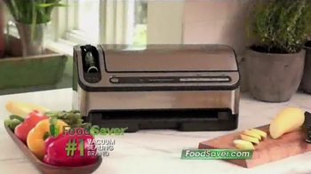 FoodSaver TV Spot, 'Top Notch Sealing' - Thumbnail 1