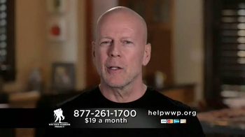 Wounded Warrior Project TV Spot, 'Robert' Featuring Bruce Willis - Thumbnail 9